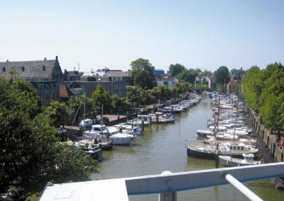 Uitzicht op de haven - De Kade Appartementen